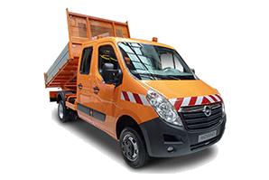 Opel Movano Doppelkabine Pritschenwagen