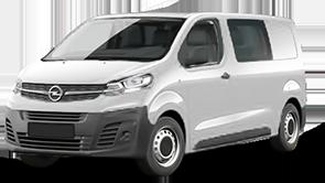 Opel Vivaro Doppelkabine Kastenwagen