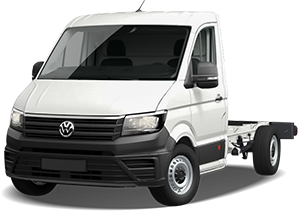 VW Crafter Doppelkabine Fahrgestell