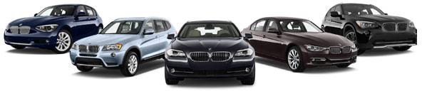BMW 1-Serie, X3, 5-Serie, 3-Serie, X1