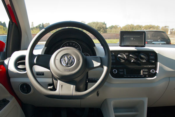 VW up! Cockpit