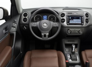 VW Tiguan Cockpit 2012