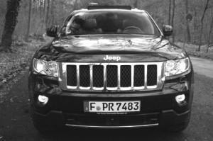 Jeep Grand Cherokee 2012 Front
