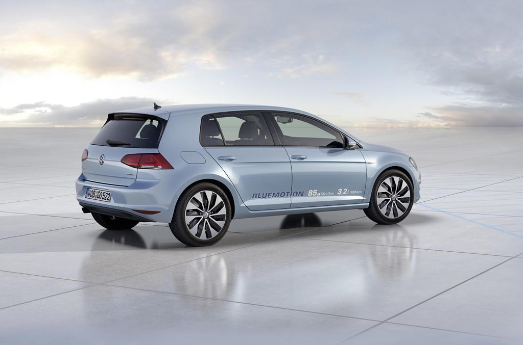 VW Golf 7 BlueMotion: Premiere als Studie in Paris - MeinAuto.de