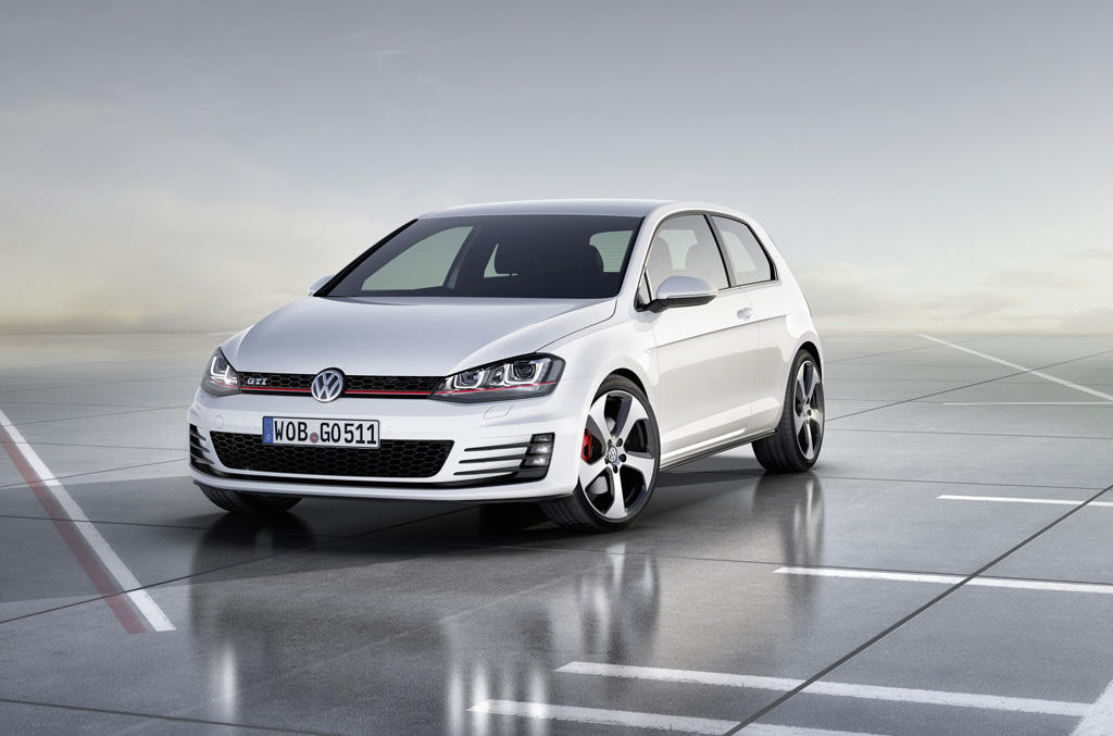 vw golf 7 gti power der neuen generation. Black Bedroom Furniture Sets. Home Design Ideas