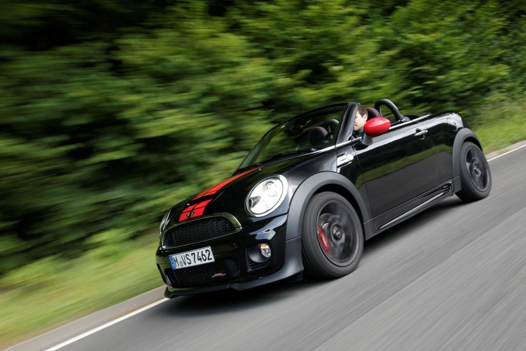 mini roadster jcw ein anflug von vernunft. Black Bedroom Furniture Sets. Home Design Ideas