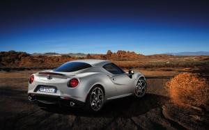 Alfa Romeo 4c Launch Edition hinten