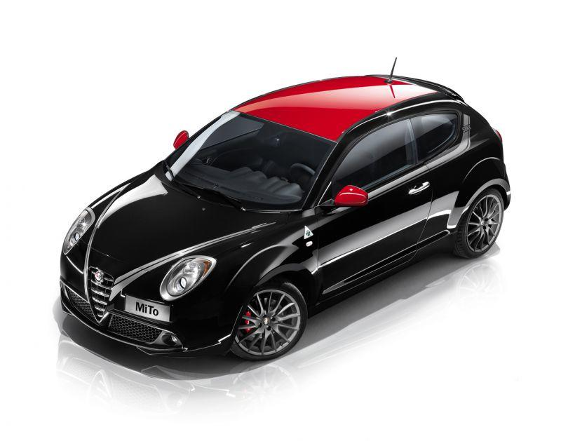 alfa romeo mito neue ausstattung und neues modell. Black Bedroom Furniture Sets. Home Design Ideas