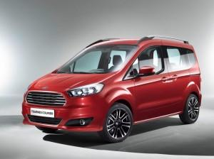 Der neue Ford Tourneo Courier 2014