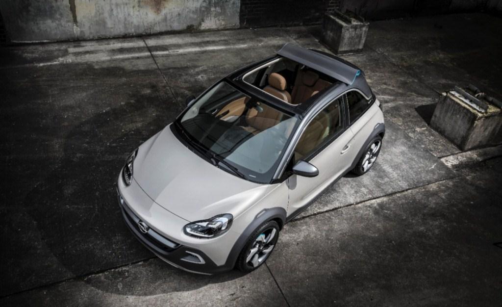 Opel Adam Cabrio Mit Faltdach Meinauto De