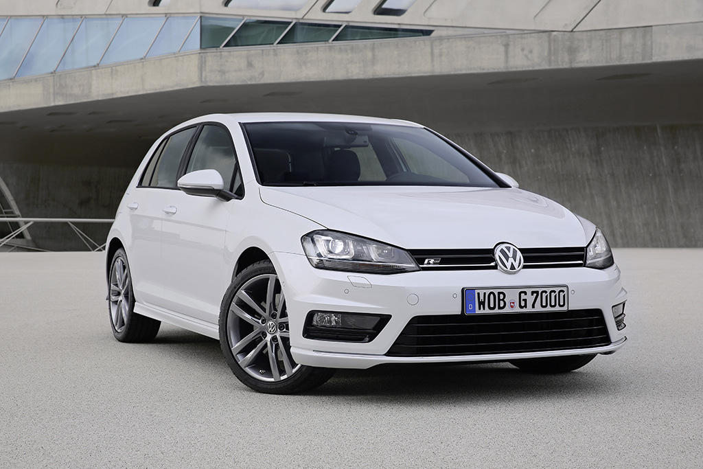 vw golf 7 r line sportlich in der kompaktklasse. Black Bedroom Furniture Sets. Home Design Ideas