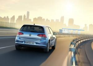 VW Golf 7 TDI BlueMotion 2013