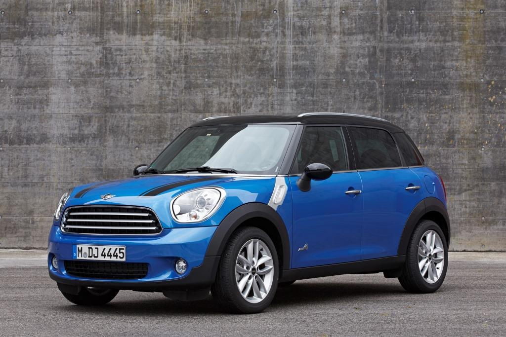 mini paceman countryman all4 allrad f r die kleinen suvs. Black Bedroom Furniture Sets. Home Design Ideas