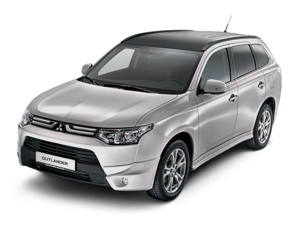 mitsubishi outlander bekommt neues design-paket - meinauto.de