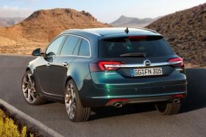 Opel Insignia Sports Tourer 2013 Facelift hinten