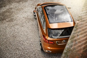 BMW Concept Active Tourer Outdoor oben