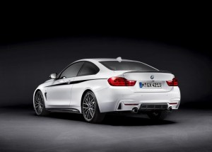 BMW 4er Coupé M Performance hinten