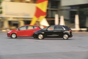 Citroen C4 Picasso Ford C-Max Test