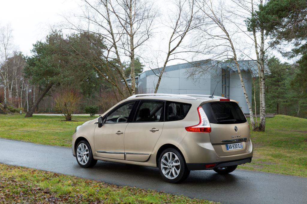 renault grand scenic test schnelles facelift. Black Bedroom Furniture Sets. Home Design Ideas