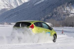 Ford Fiesta ADAC Winterreifen Test 2013
