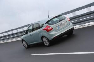 Ford Focus Electric Test hinten