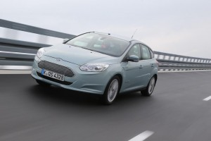Ford Focus Electric Test vorne