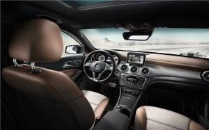Mercedes GLA Cockpit