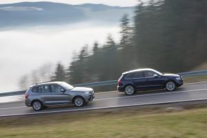BMW X3 Audi SQ5 Test