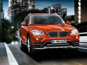 BMW X1 - Valencia Orange metallic - X Line