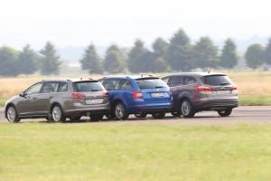 VW Golf Variant Skoda Octavia Combi Ford Focus Turnier Test