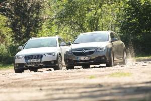 audi a4 allroad quattro opel insignia country tourer test