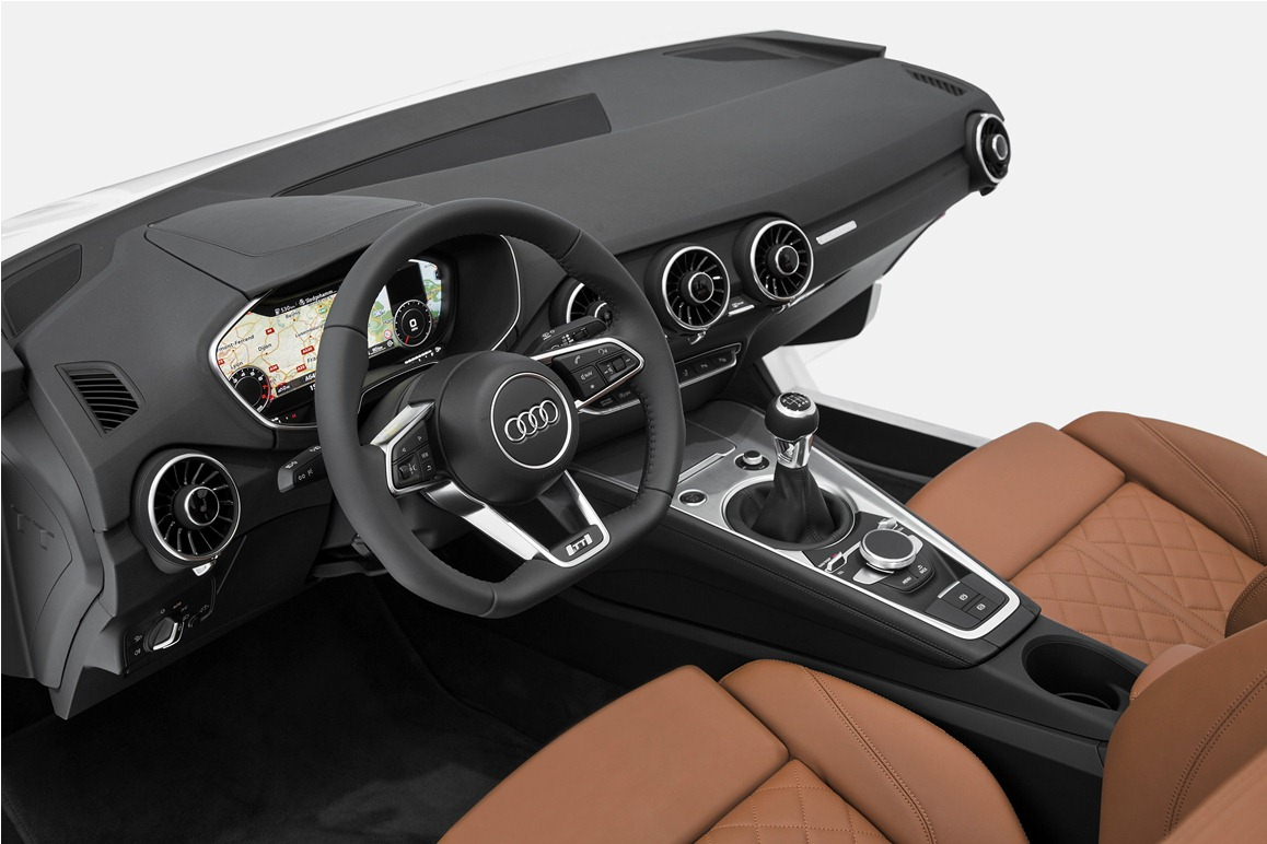 audi tt neues interieur auf der ces vorgestellt. Black Bedroom Furniture Sets. Home Design Ideas