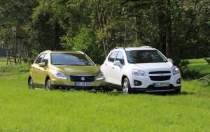 chevrolet trax suzuki sx4 s-cross test