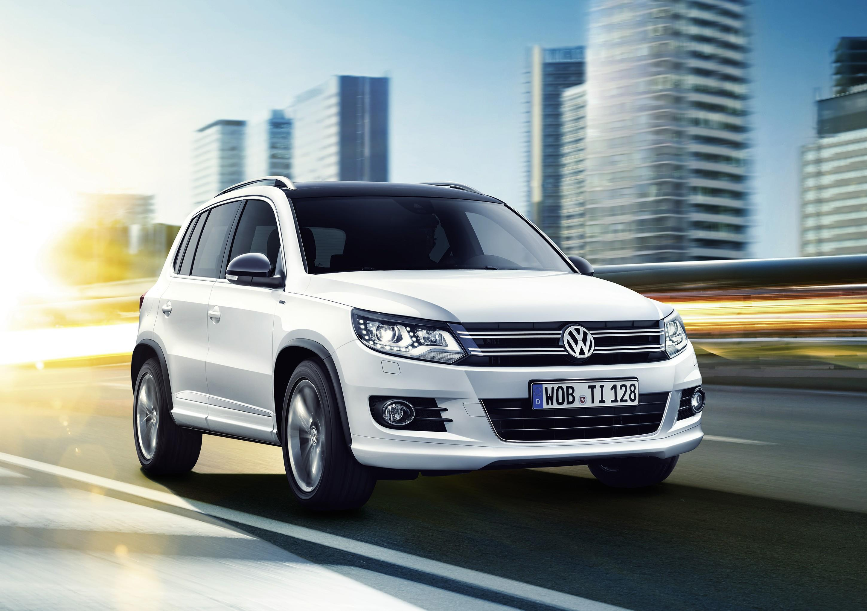 vw tiguan cityscape sondermodell f r das suv. Black Bedroom Furniture Sets. Home Design Ideas