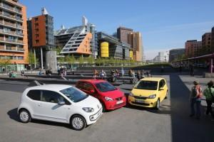 VW up Seat Mii Skoda Citigo Test