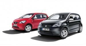 seat mii edition red black 2014