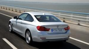 bmw 4er coupe test hinten