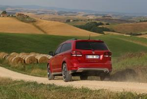 fiat freemont cross 2014 hinten