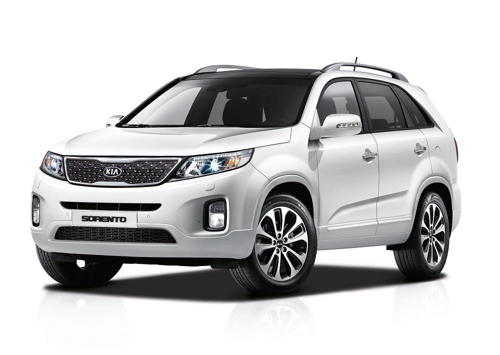 kia suvs neues lack paket f r sportage sorento. Black Bedroom Furniture Sets. Home Design Ideas