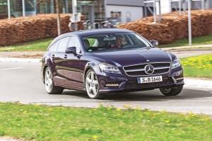 mercedes benz cls shootingbrake test