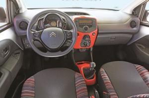 citroen c1 2014 test cockpit