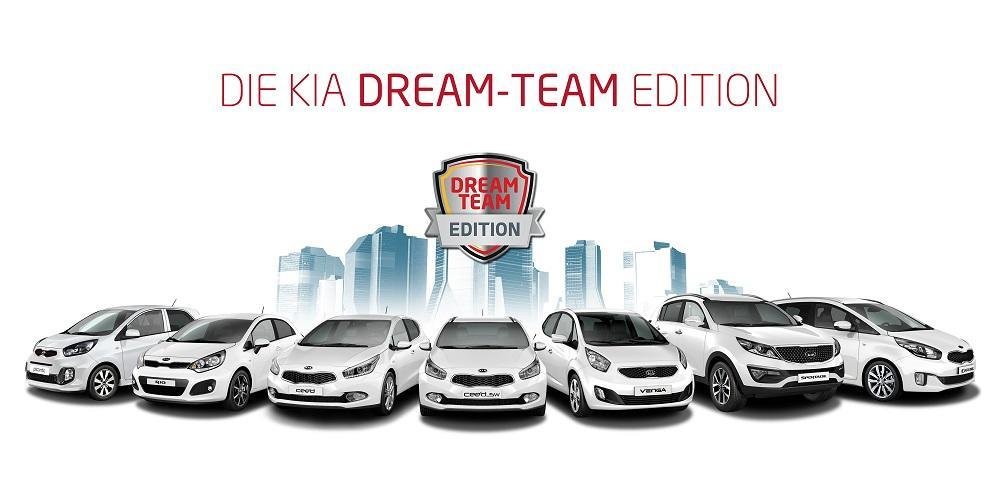 kia comeback der dream team edition. Black Bedroom Furniture Sets. Home Design Ideas