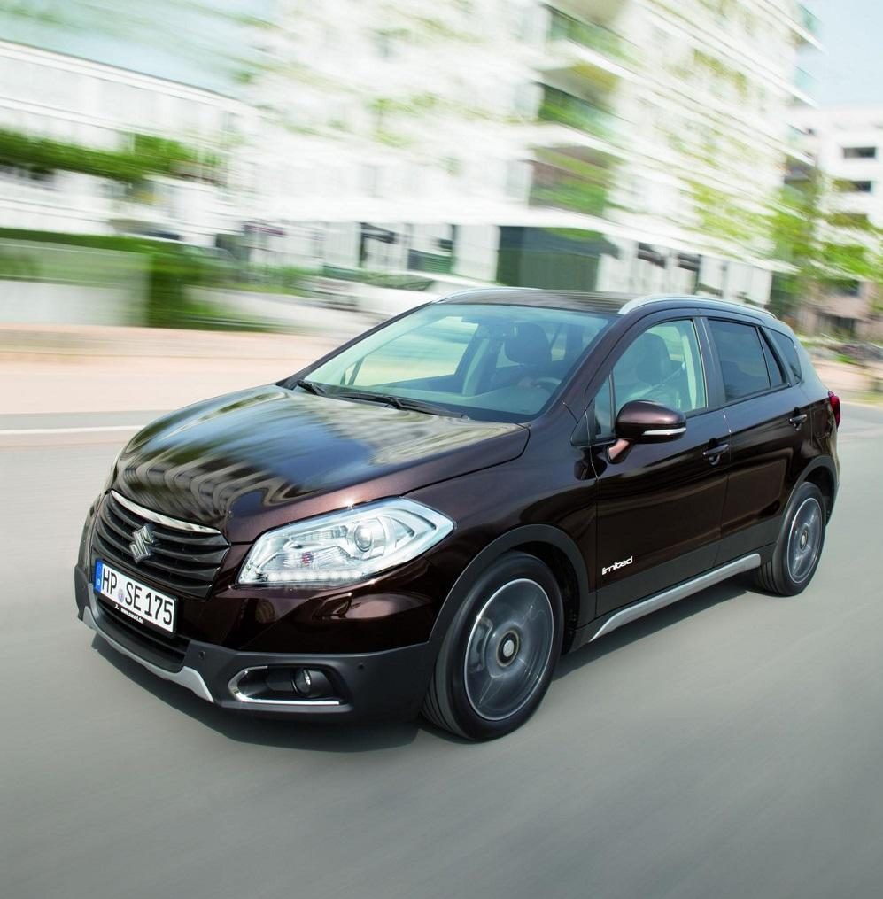 suzuki sx 4 s cross neues sondermodell limited. Black Bedroom Furniture Sets. Home Design Ideas