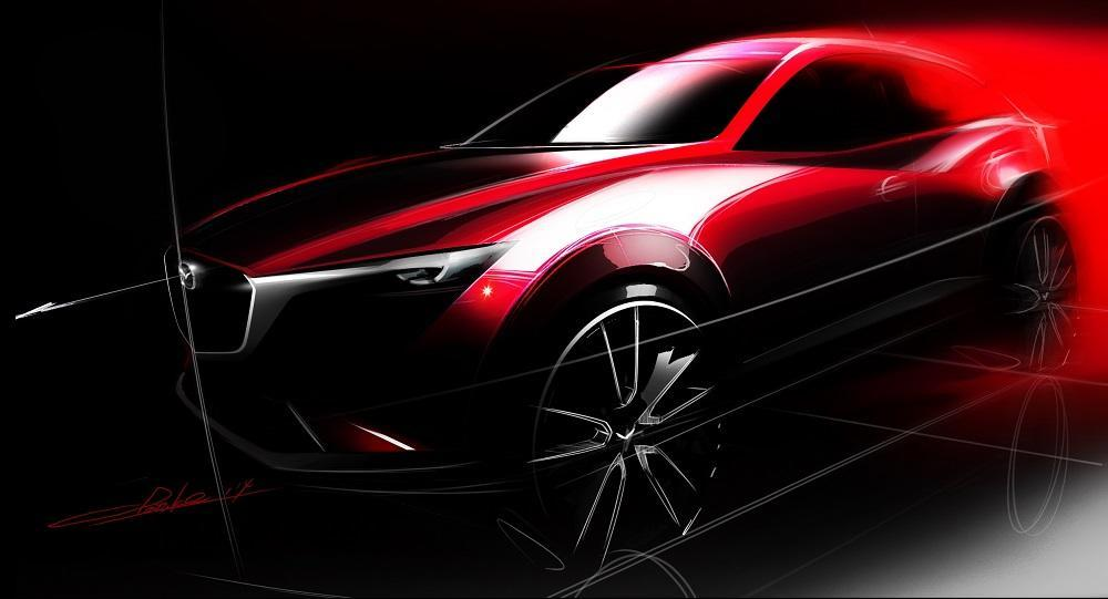 mazda cx 3 2015 premiere in los angeles. Black Bedroom Furniture Sets. Home Design Ideas