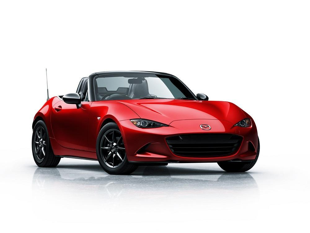 mazda mx 5 2015 neuer sportwagen kommt nach paris. Black Bedroom Furniture Sets. Home Design Ideas