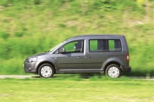 vw caddy test 2014