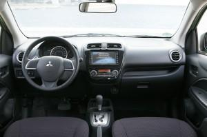 mitsubishi space star 2015 cockpit