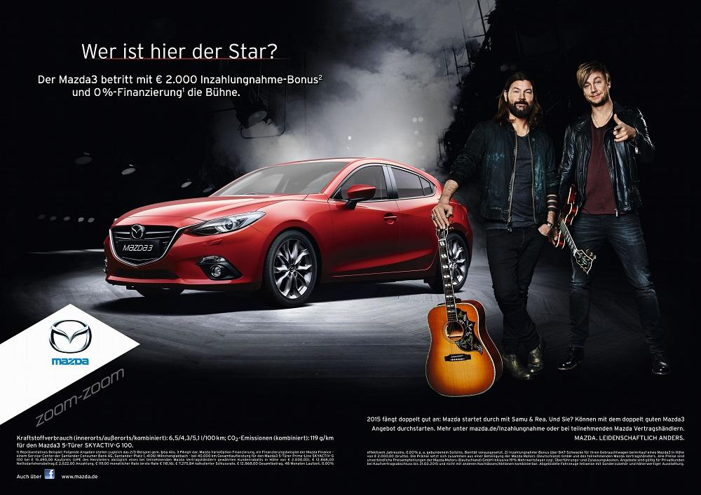 mazda kooperiert mit rea garvey und samu haber. Black Bedroom Furniture Sets. Home Design Ideas