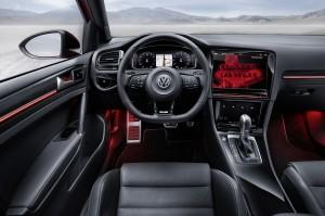 vw golf r touch cockpit