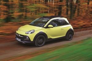 opel adam rocks test 2015